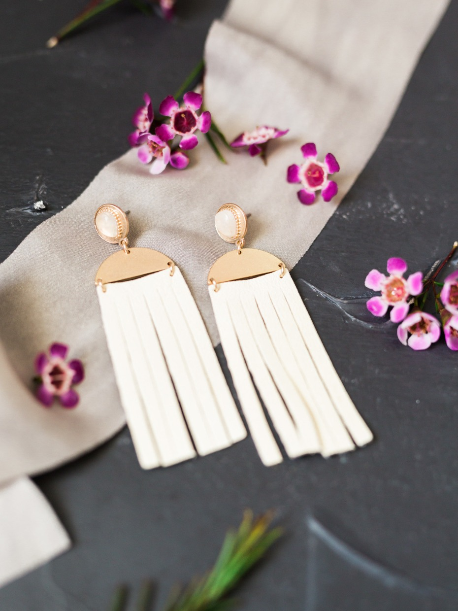 tassel wedding earings