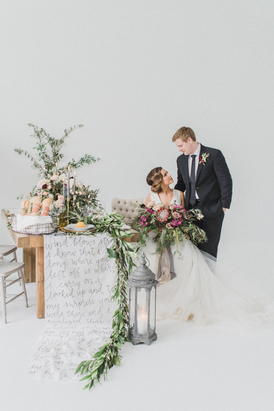 Old world inspired wedding ideas