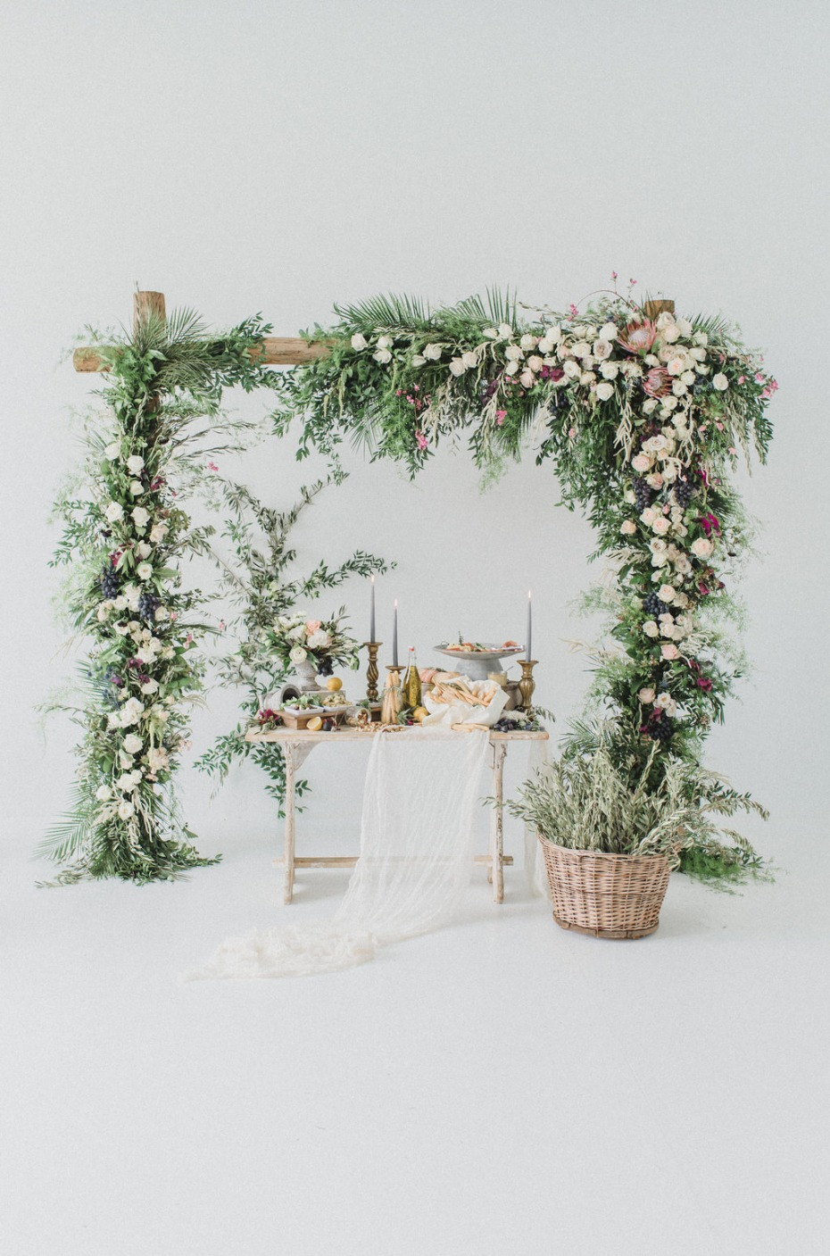 Reuse your wedding arbor