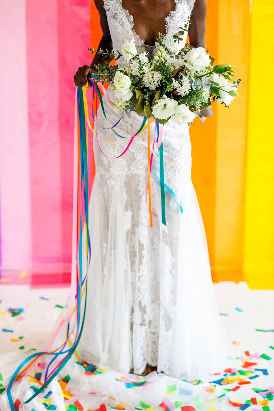 add rainbows to your wedding day