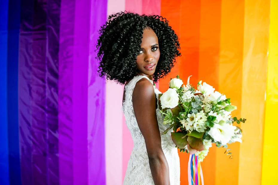 how to make your own rainbow backdrop