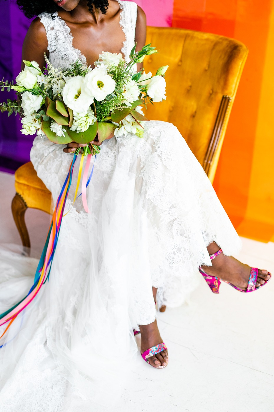 Four Ways To Kick Up The Color In Your Wedding