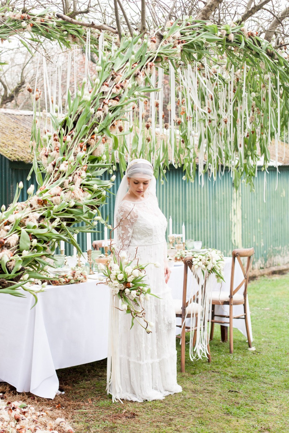 Tulip Mania inspired wedding shoot