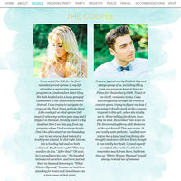 Luxury Wedding Websites from Riley & Grey