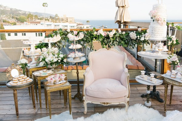 This Bride Planned Her Own Vintage Inspired Bridal Shower for $7000