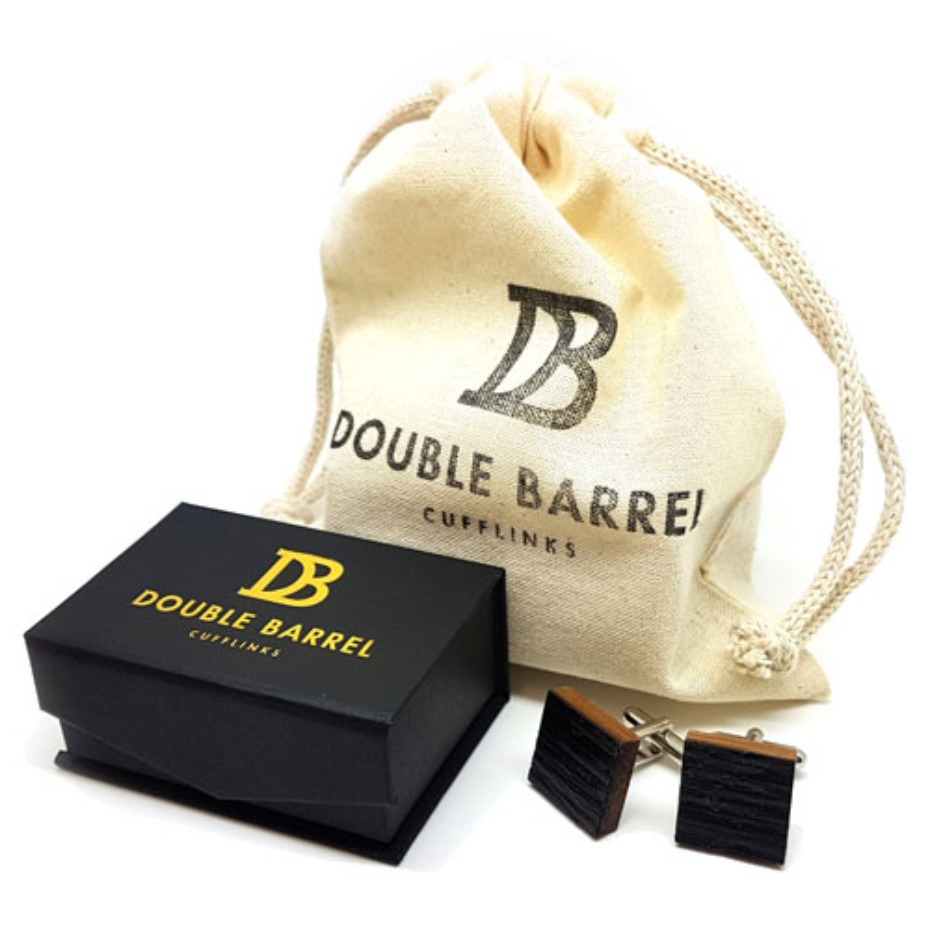 DB Double Barrel Cufflinks