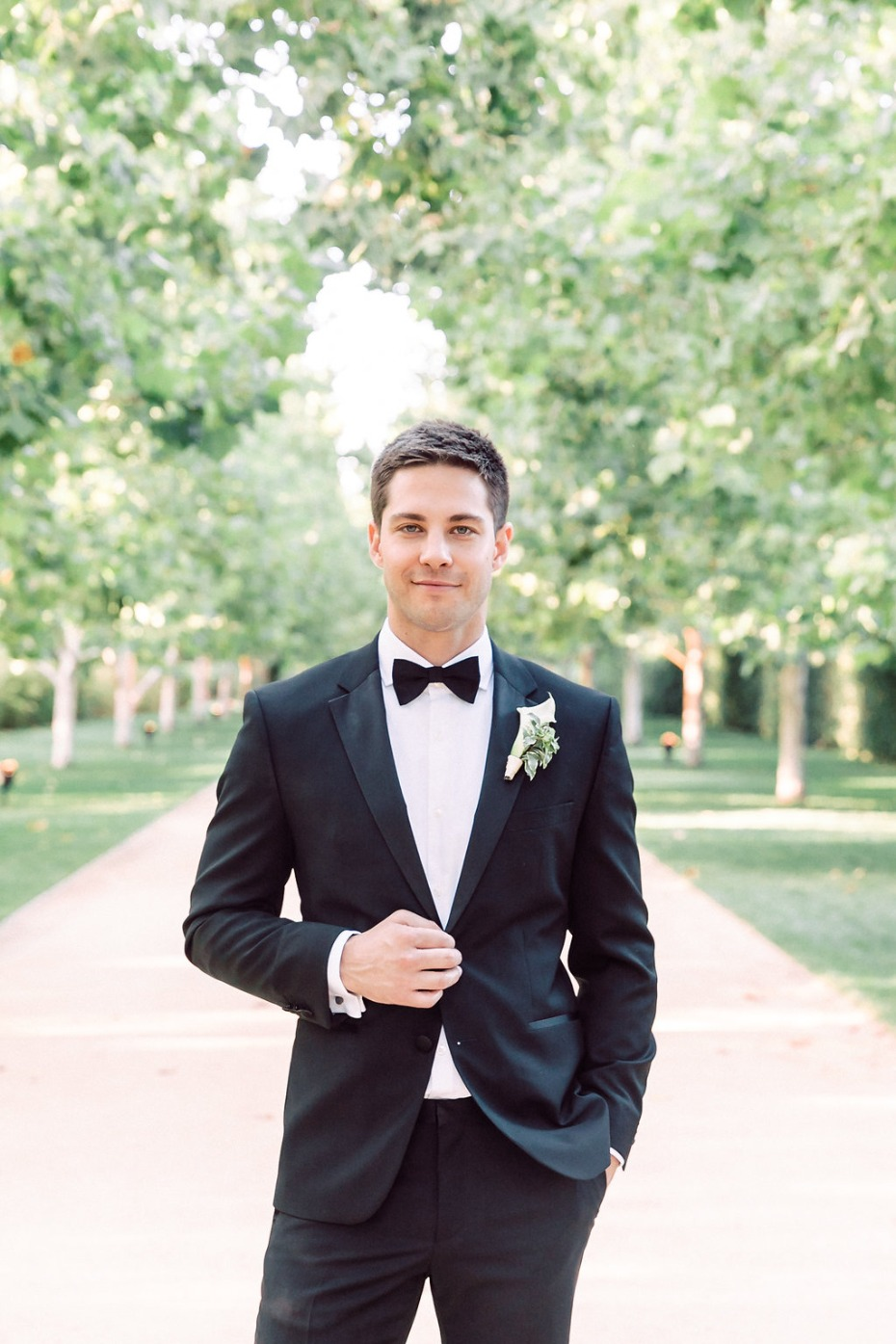 Dean Geyer from Glee wedding