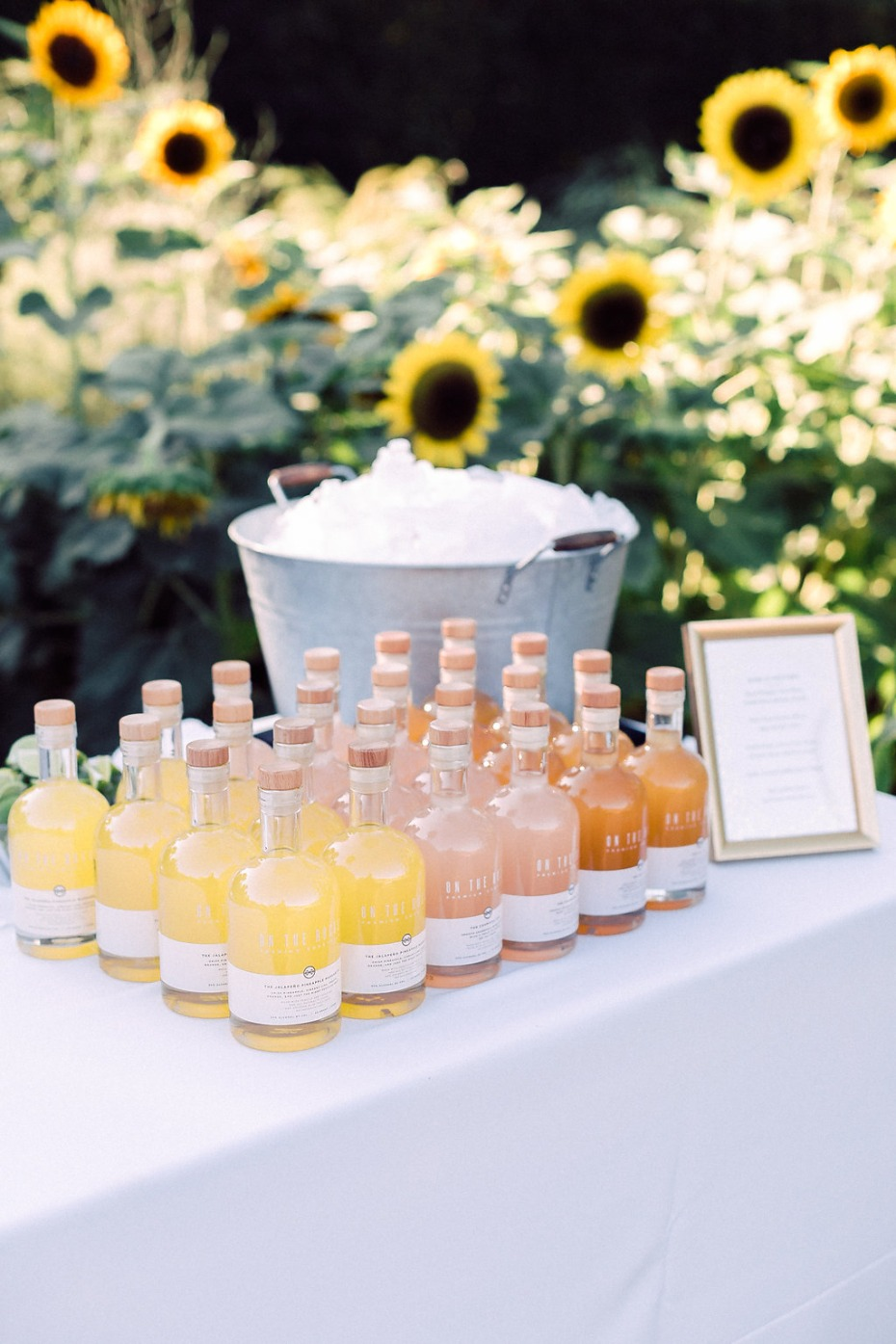 Wedding cocktails idea