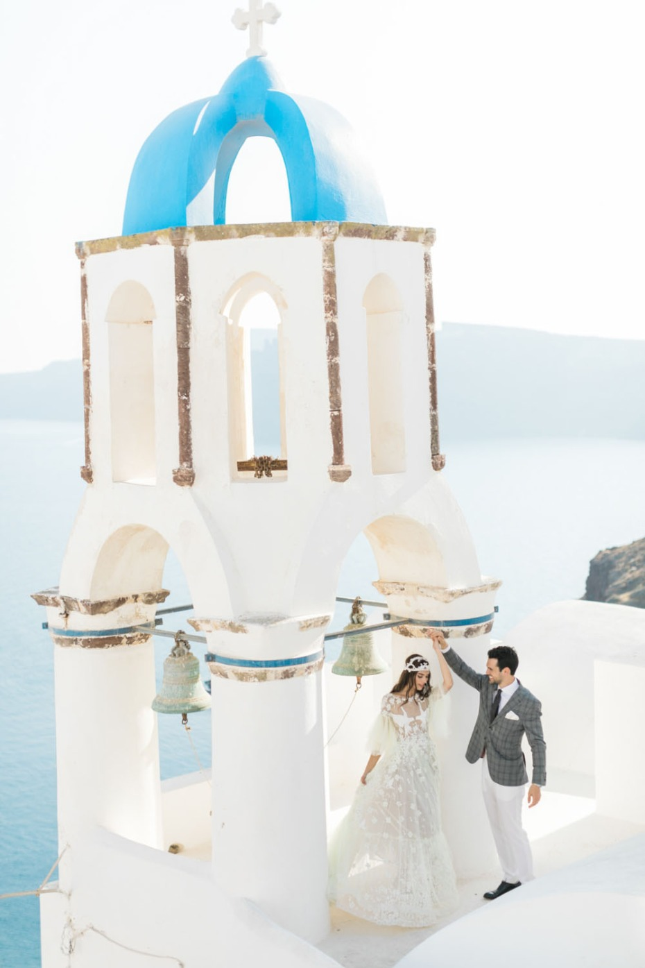 Get married in Santorini