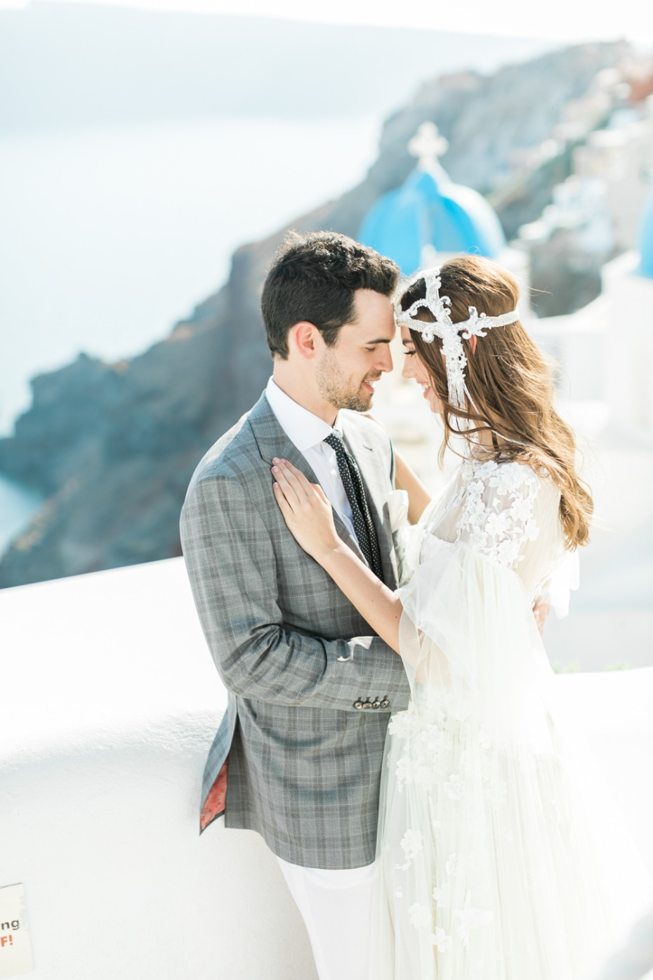 Gorgeous wedding ideas from Santorini