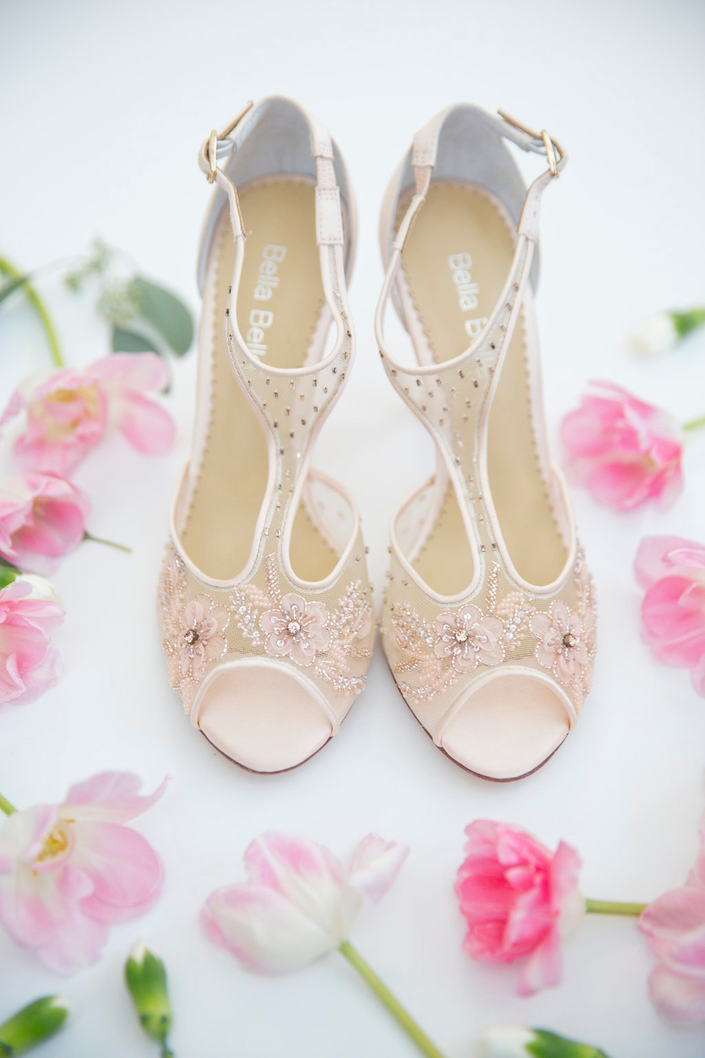 Anyone else love the blush details of our beloved Paloma Blush? See more at @bellabelleshoes