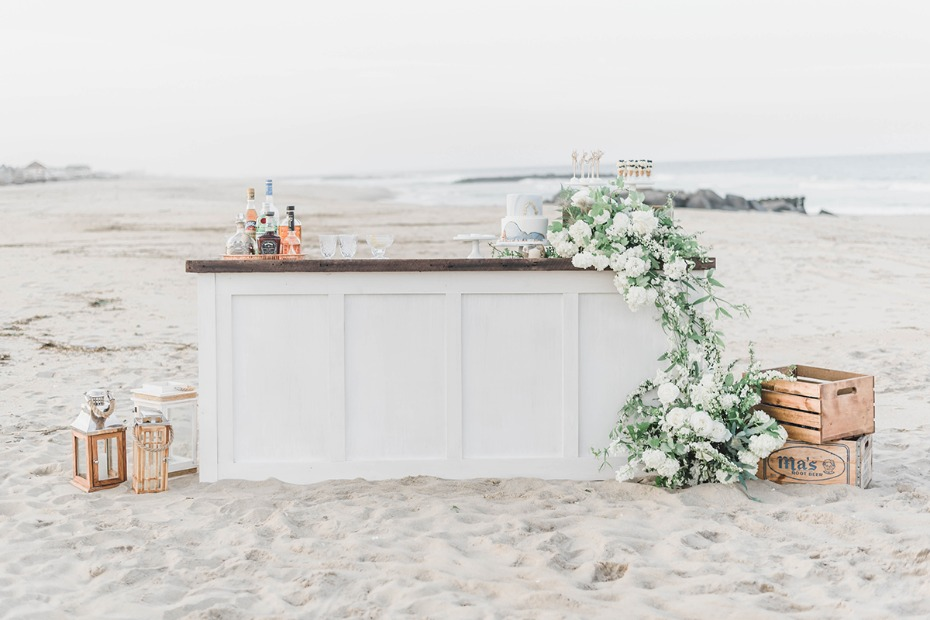 wedding bar on the beach