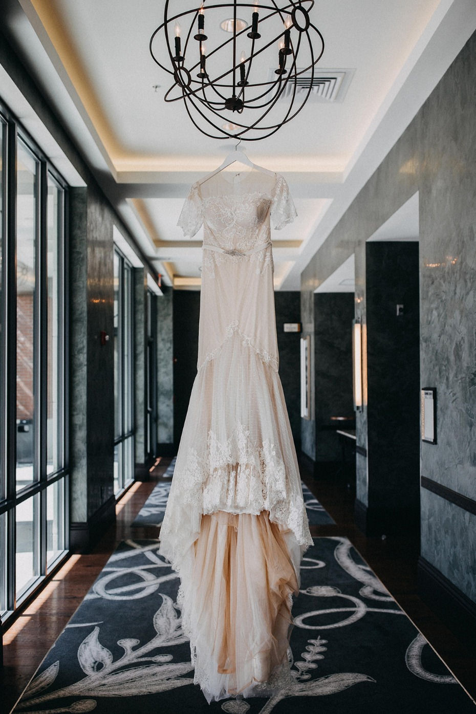 wedding dress from Inbal Dror