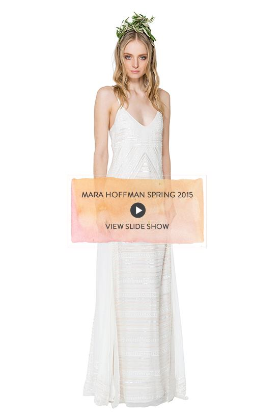 Mara Hoffman Wedding Spring 2015 Devotional Collection