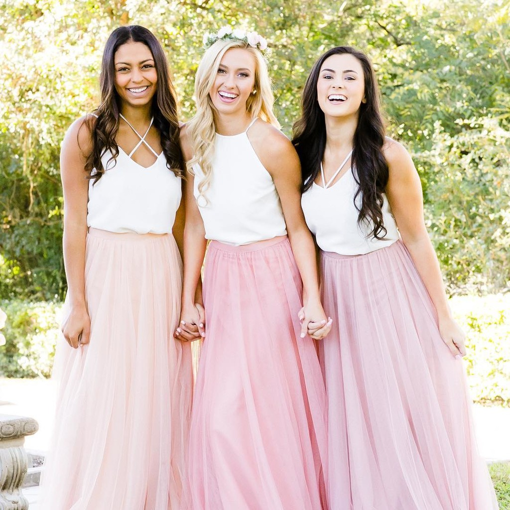 The most beautiful blushes for the best bridesbabes.💕