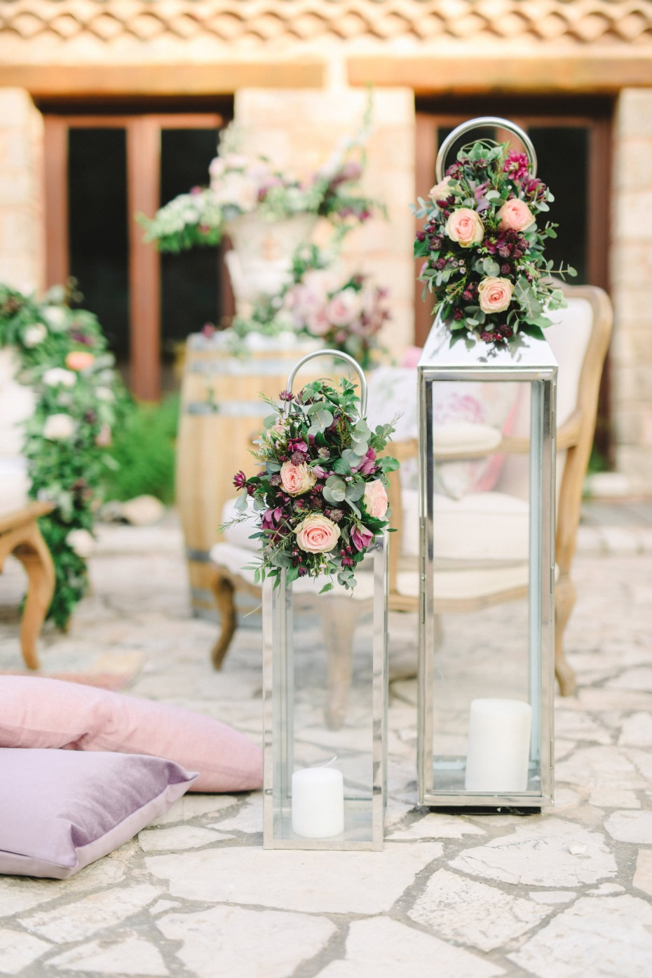 Wedding decor florals