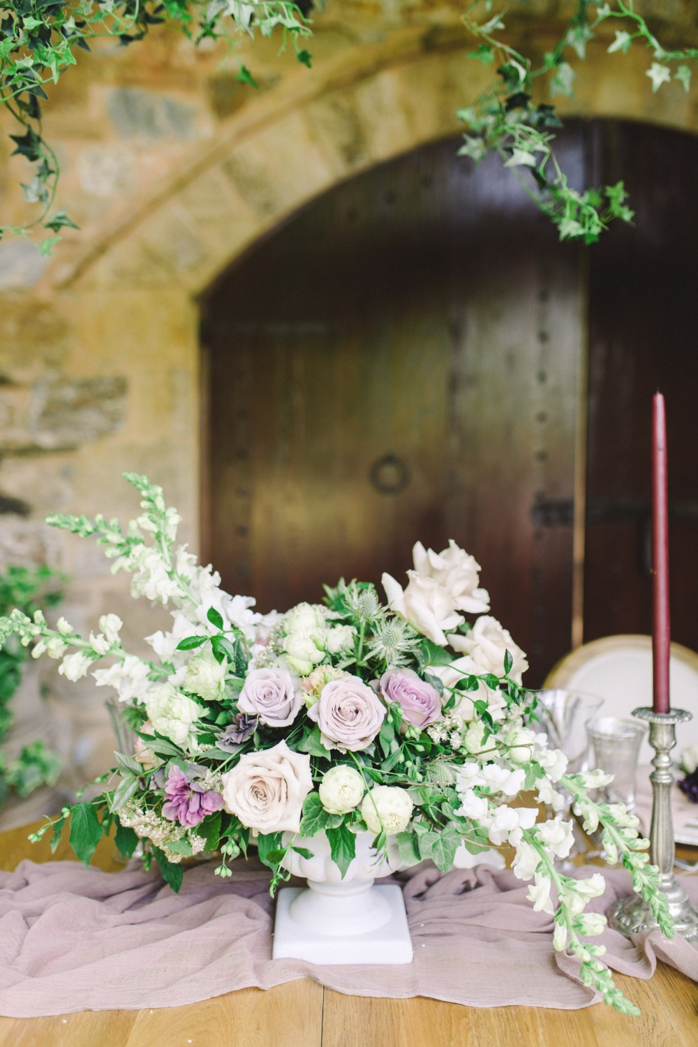 Step Into This Secret Garden Winery Wedding Inspiration