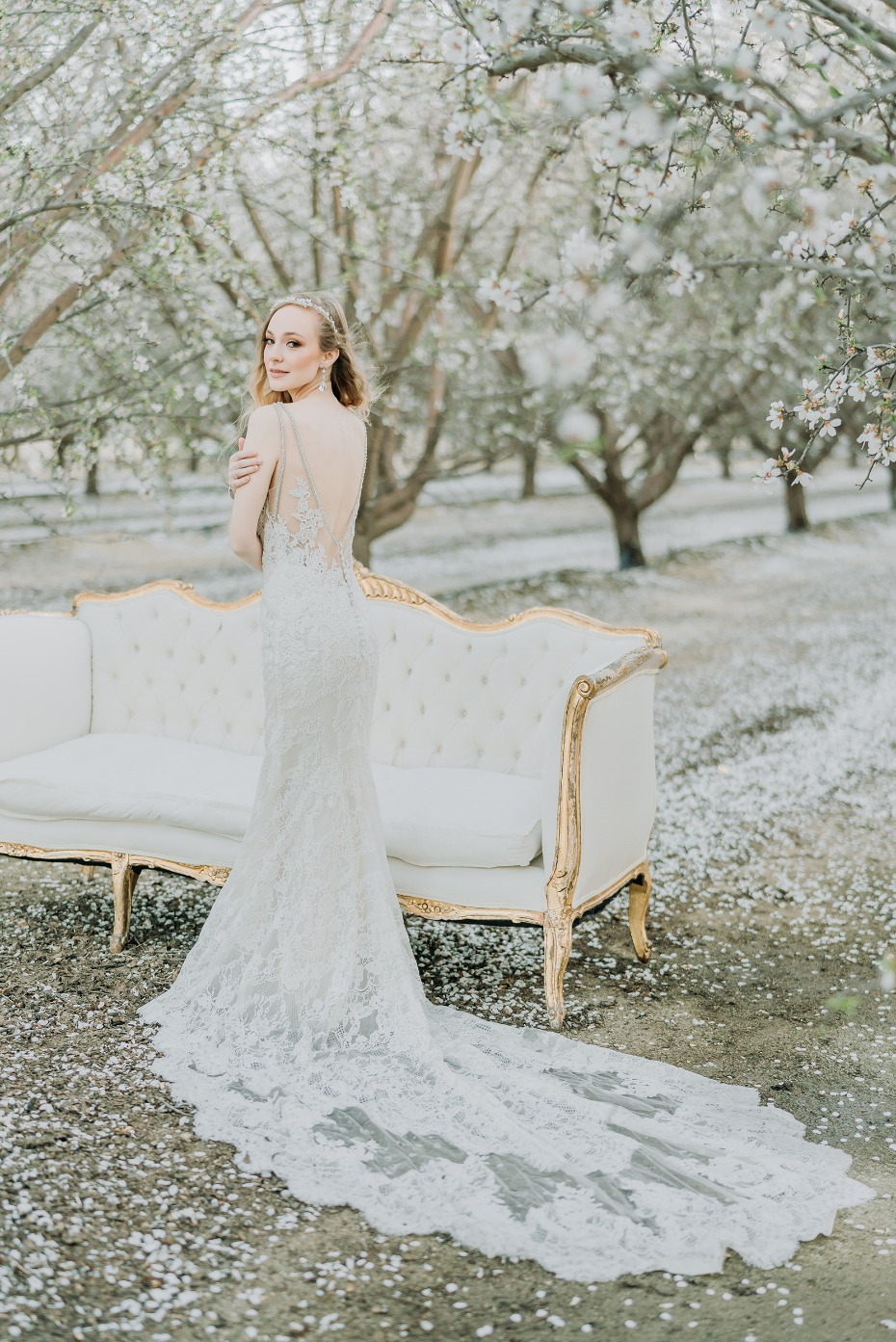 Gorgoeus lace gown from Enzoani