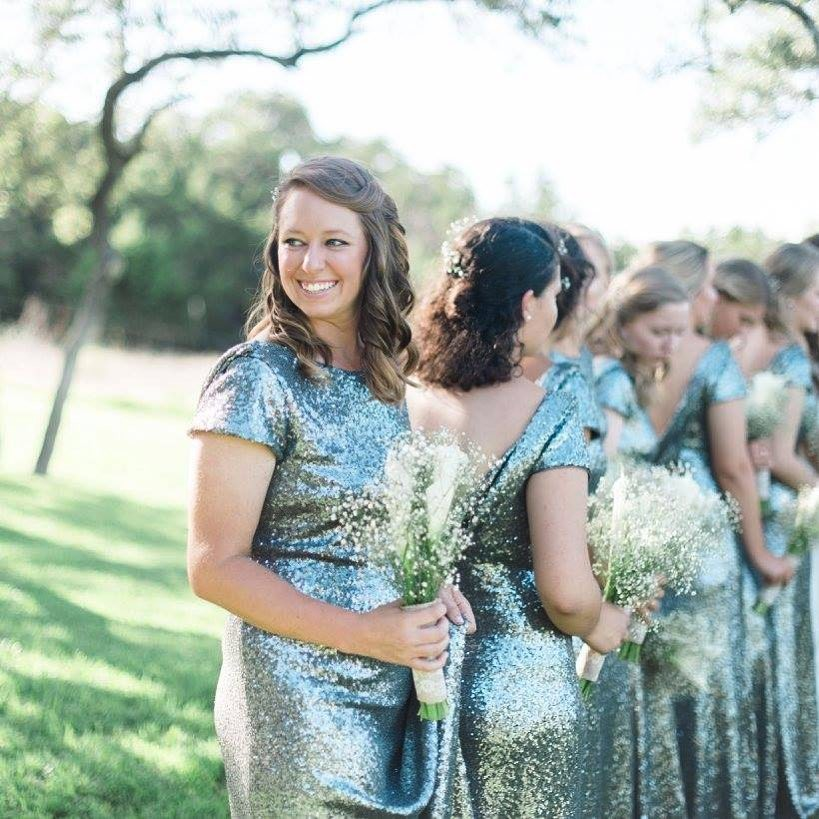 When your bridesmaids' faces say it all.😍