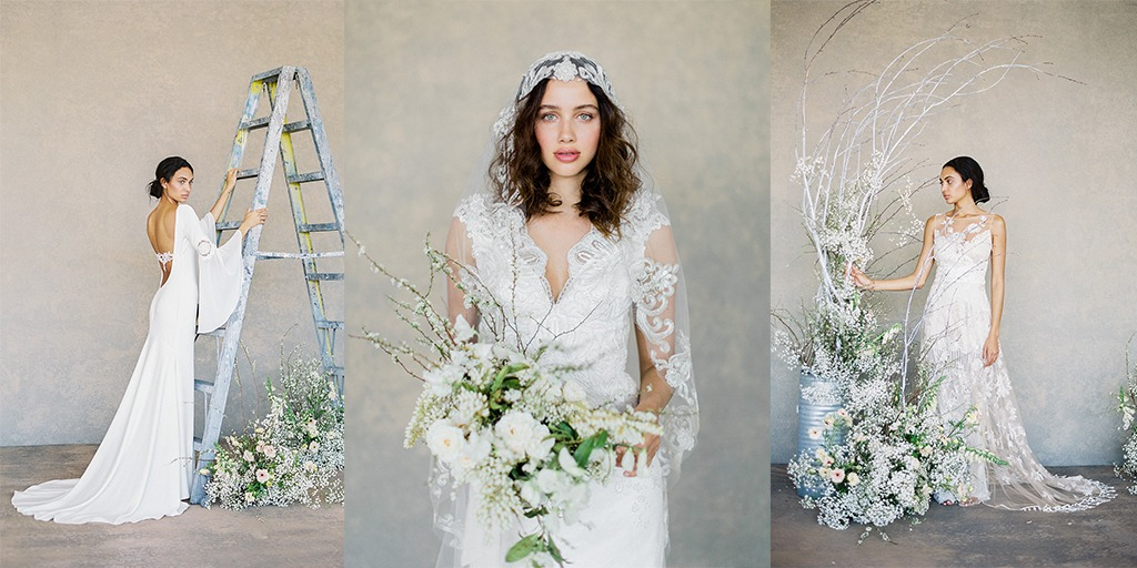 Claire Pettibone 2019 White Collection