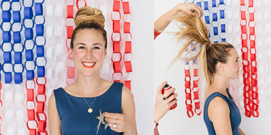 4th of July hair ideas