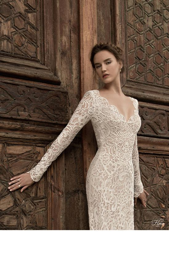 2015 Flora Wedding Dress Collection