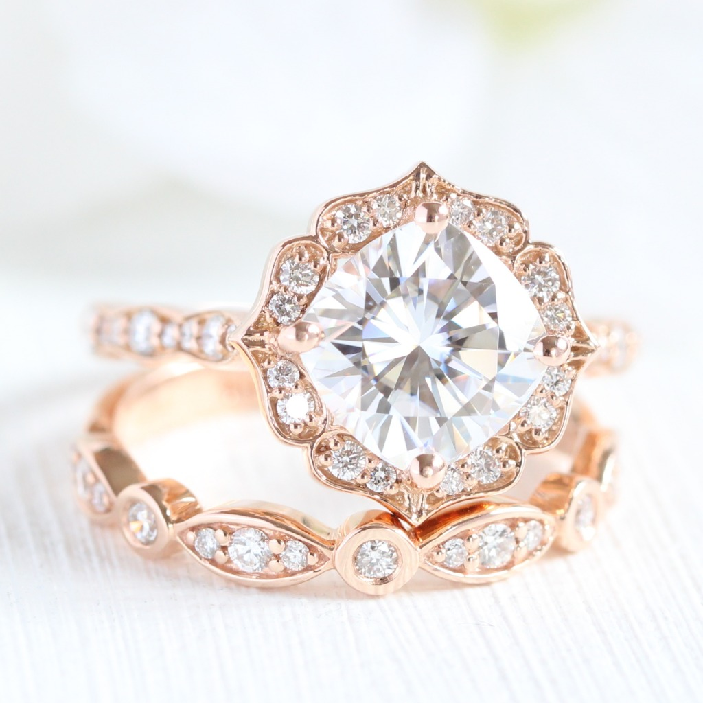 Our vintage inspired engagement rings and bridal sets are designed for brides looking for a vintage-meet-modern ring style. Explore