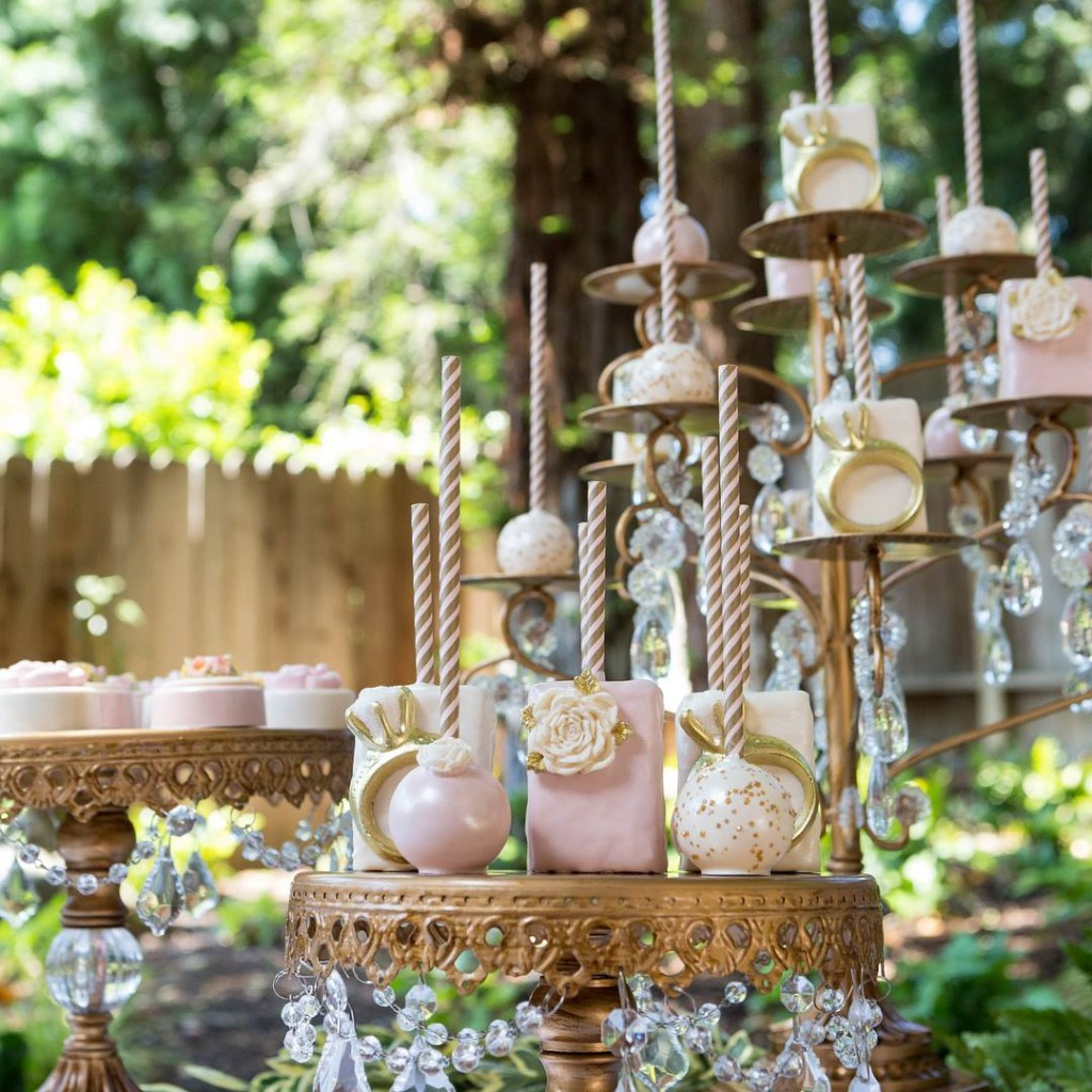 How to Create a Beautiful Wedding Dessert Table.. Opulent Treasures collection of cake stands, dessert stands, cupcake stands &amp
