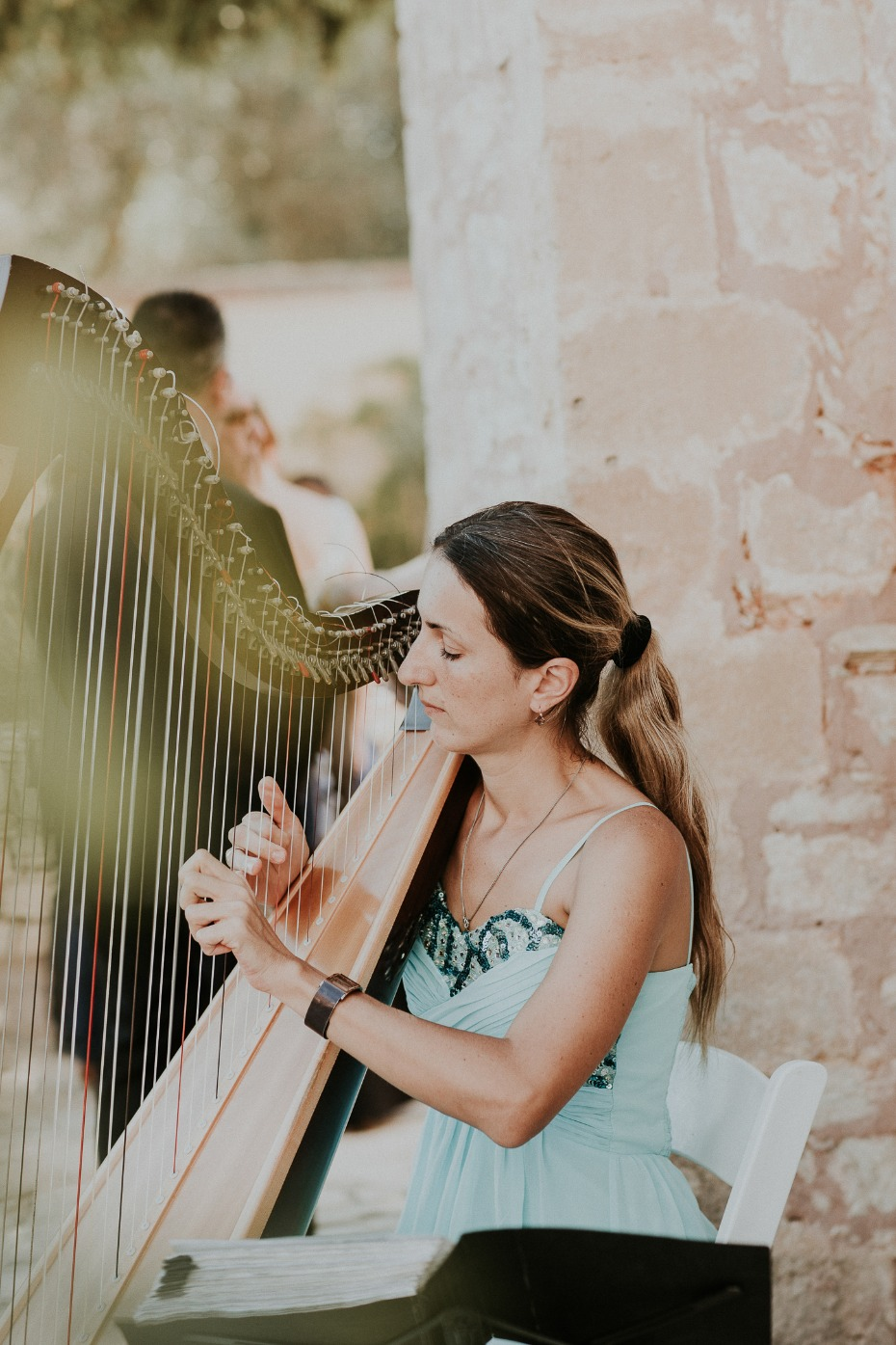 wedding harp music