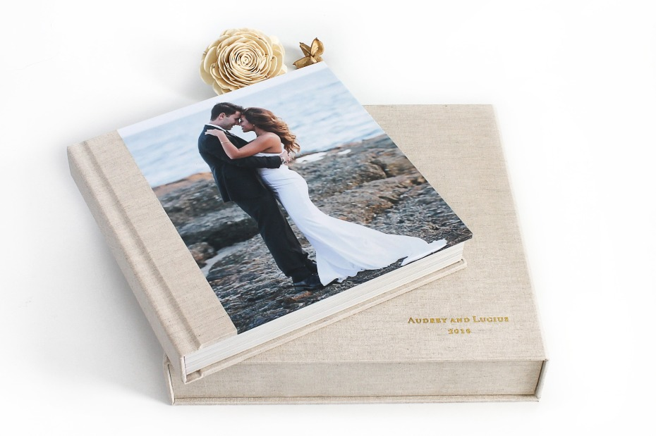 Linen Album with Matching Box
