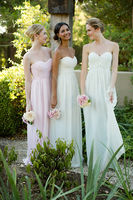 Mix N Match Bridesmaids Dresses from Donna Morgan