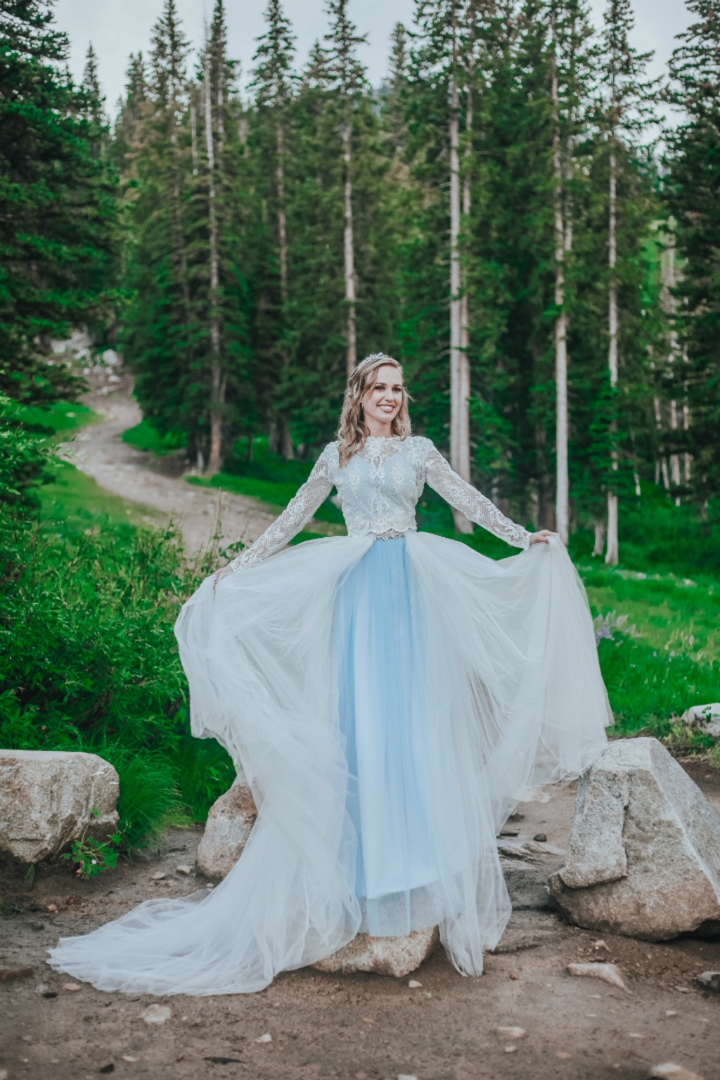 Longing for a custom made wedding gown? All gowns are custom made to order for each individual bride, in the USA. Choose from our