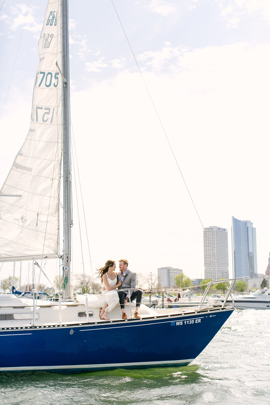 sail away on your wedding day