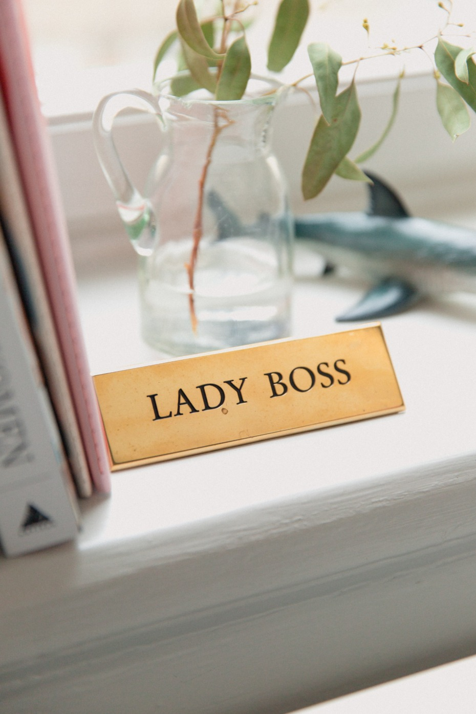 Lady Boss at Work