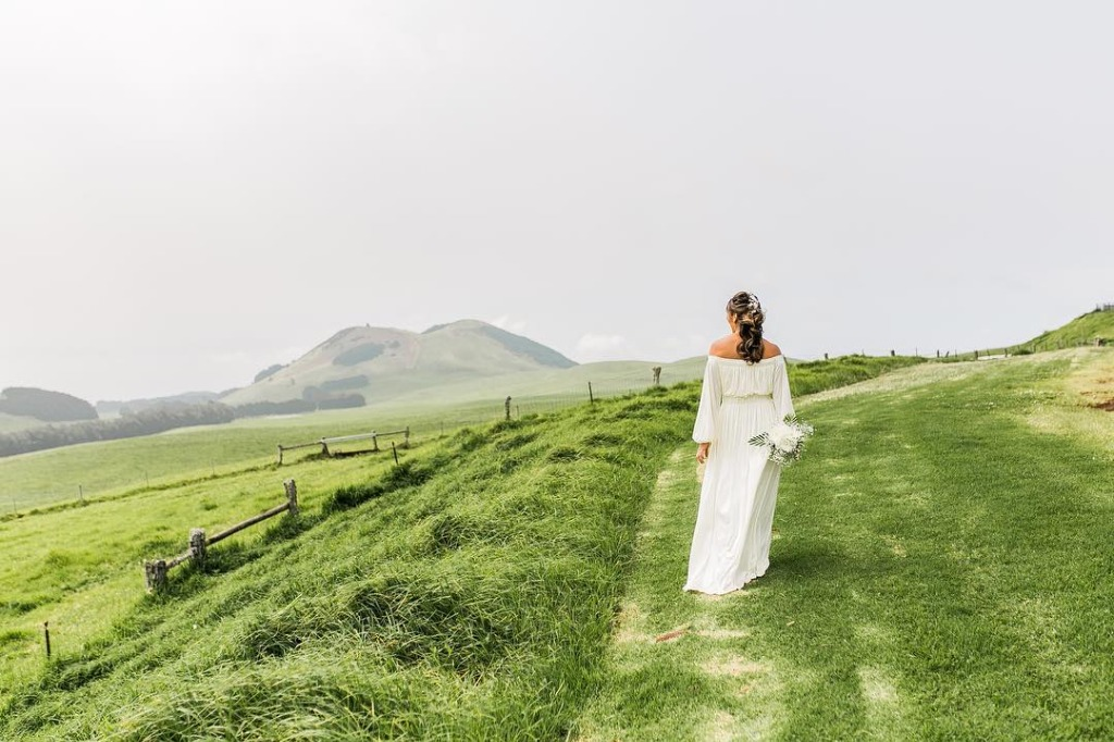 This gorgeous ranch venue on the Big Island really looked like it came out of The Sound of Music!
