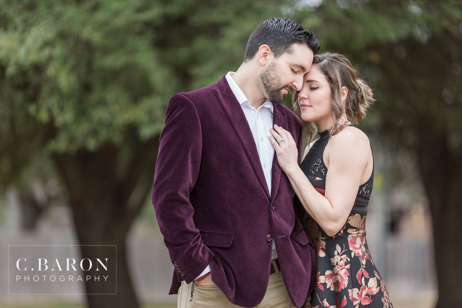 Such a beautiful couple and a fun engagement!