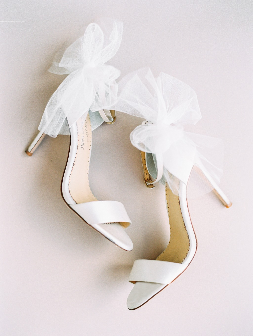 Fun, flirty and romantic, our Elise tulle heel designed by @joyproctor is one you can twirl the night away in! See more at @bellabelleshoes