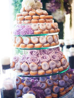 10 Doughnut Wedding Cake Ideas