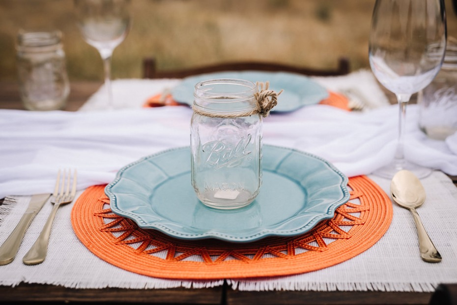 Southwestern wedding decor