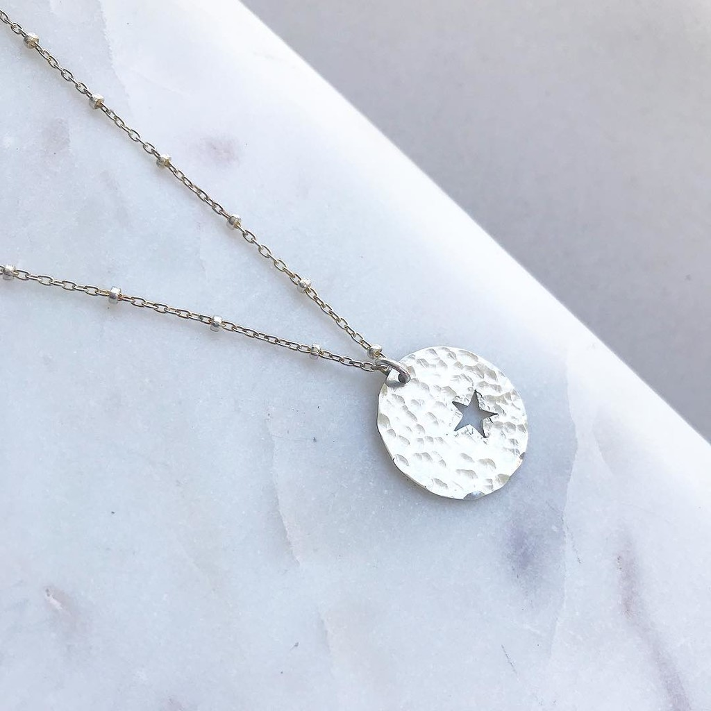 Mother Son necklace sets with the hammered finish option, who loves this too?