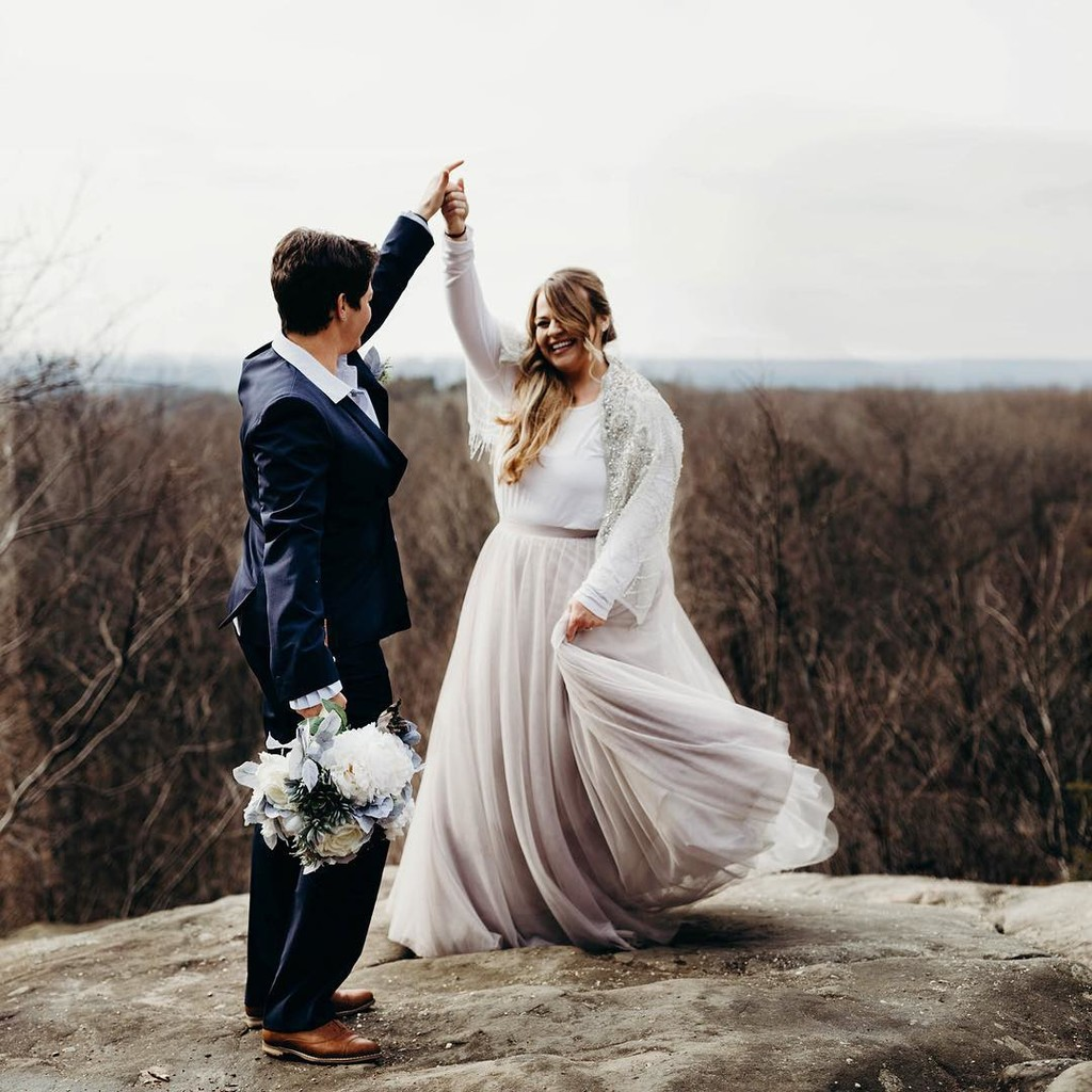 An enchanting elopement with the most breathtaking brides.❤️