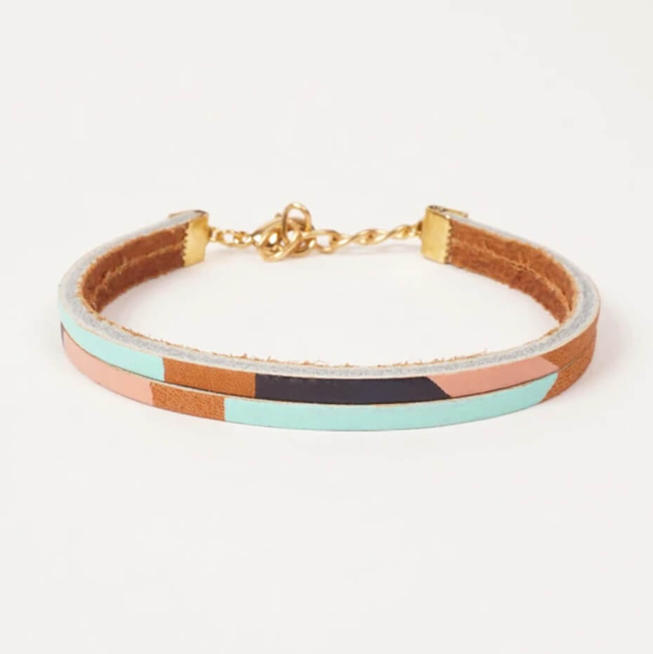fun leather bracelet