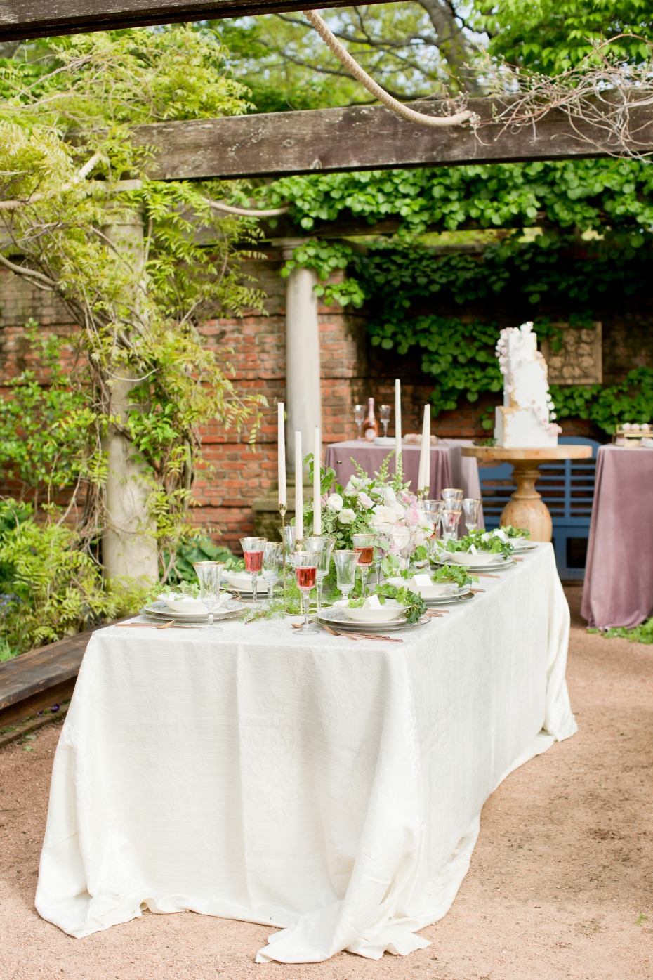 Garden wedding reception ideas