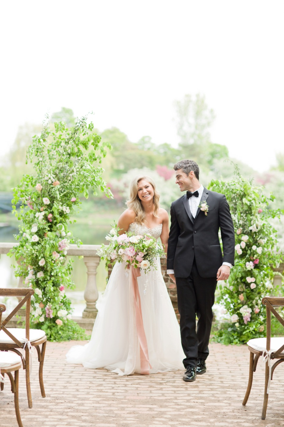 Luxurious garden wedding inspiration