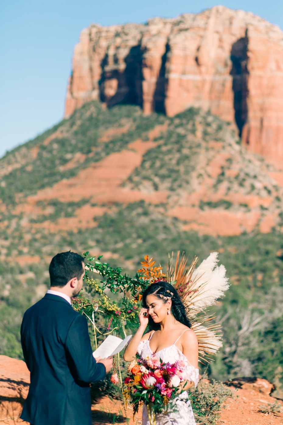 wedding ceremony in Arizona