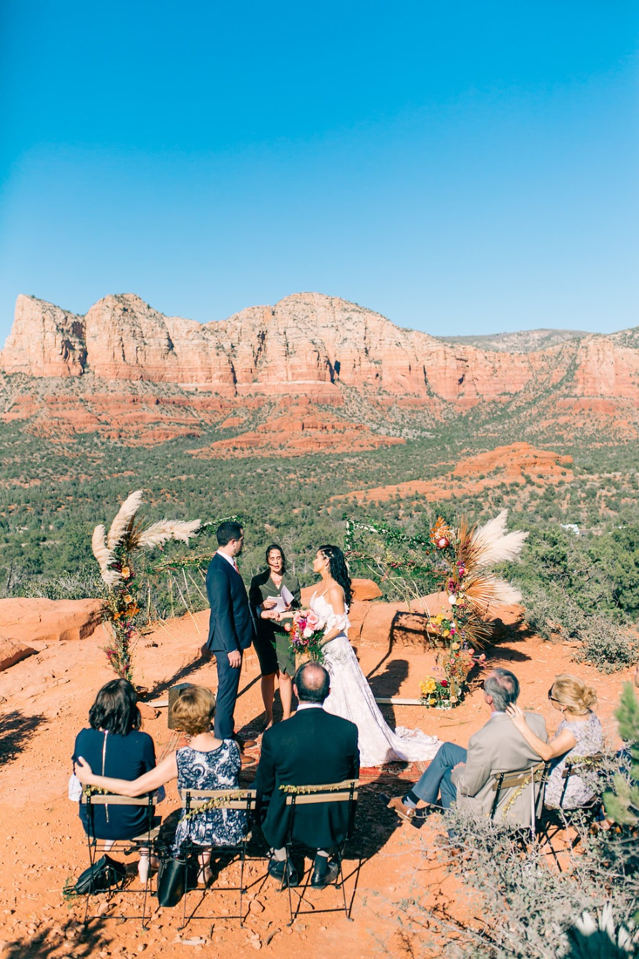 Sedona Arizona wedding ceremony
