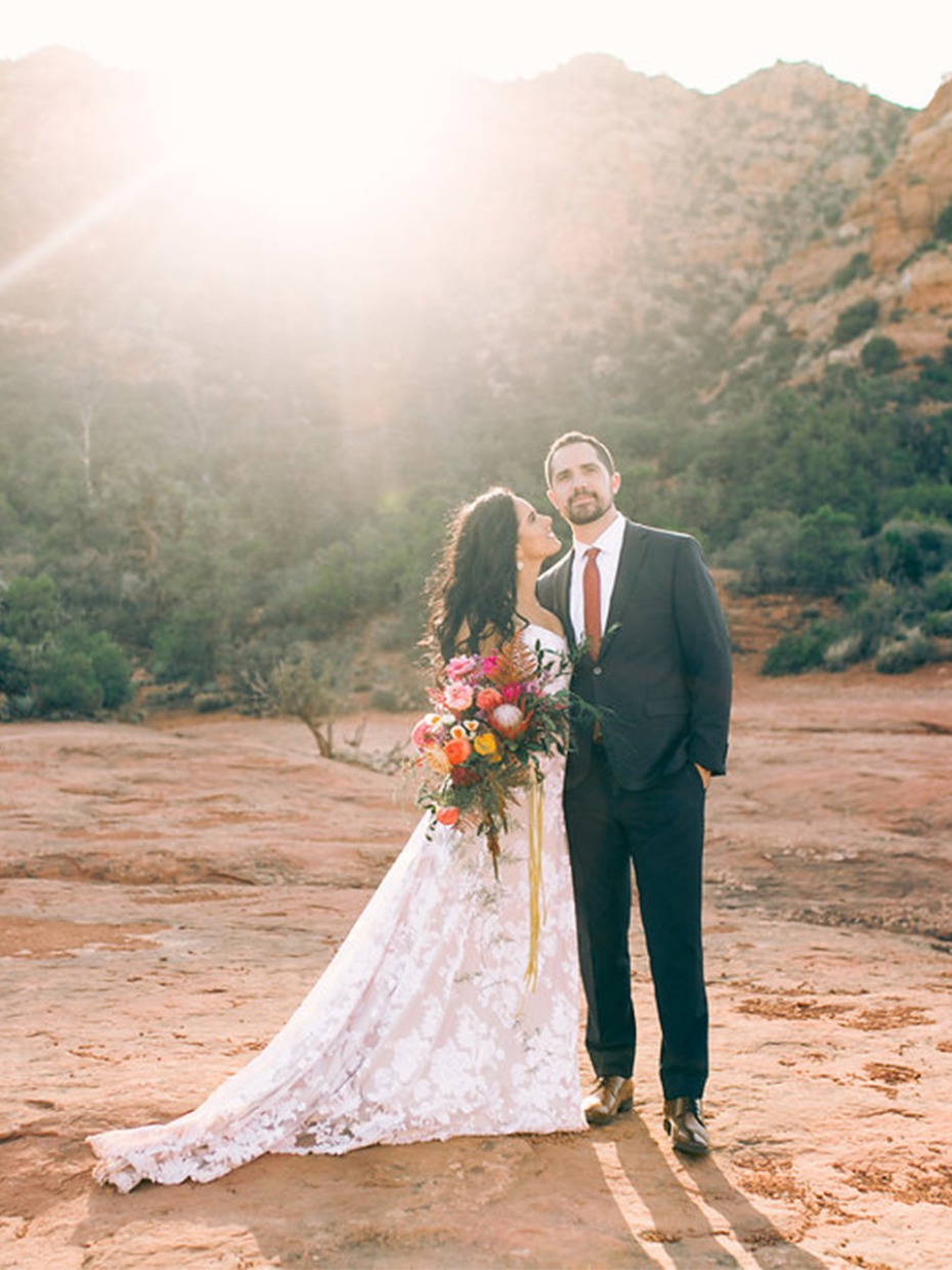 Have An Intimate Desert Wedding In Arizona
