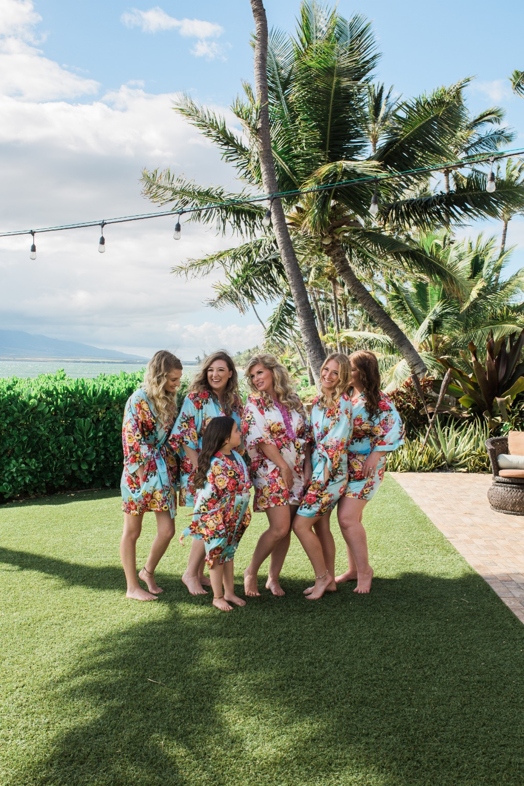 Sometimes, your best bridesmaids just so happen to be your daughters!!!!