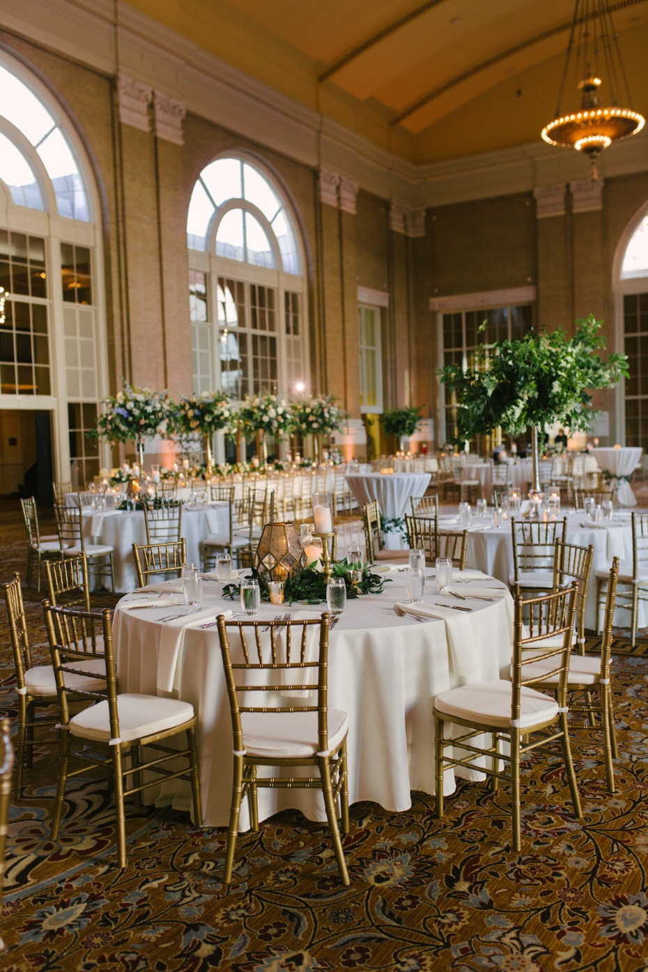 elegant wedding reception idea