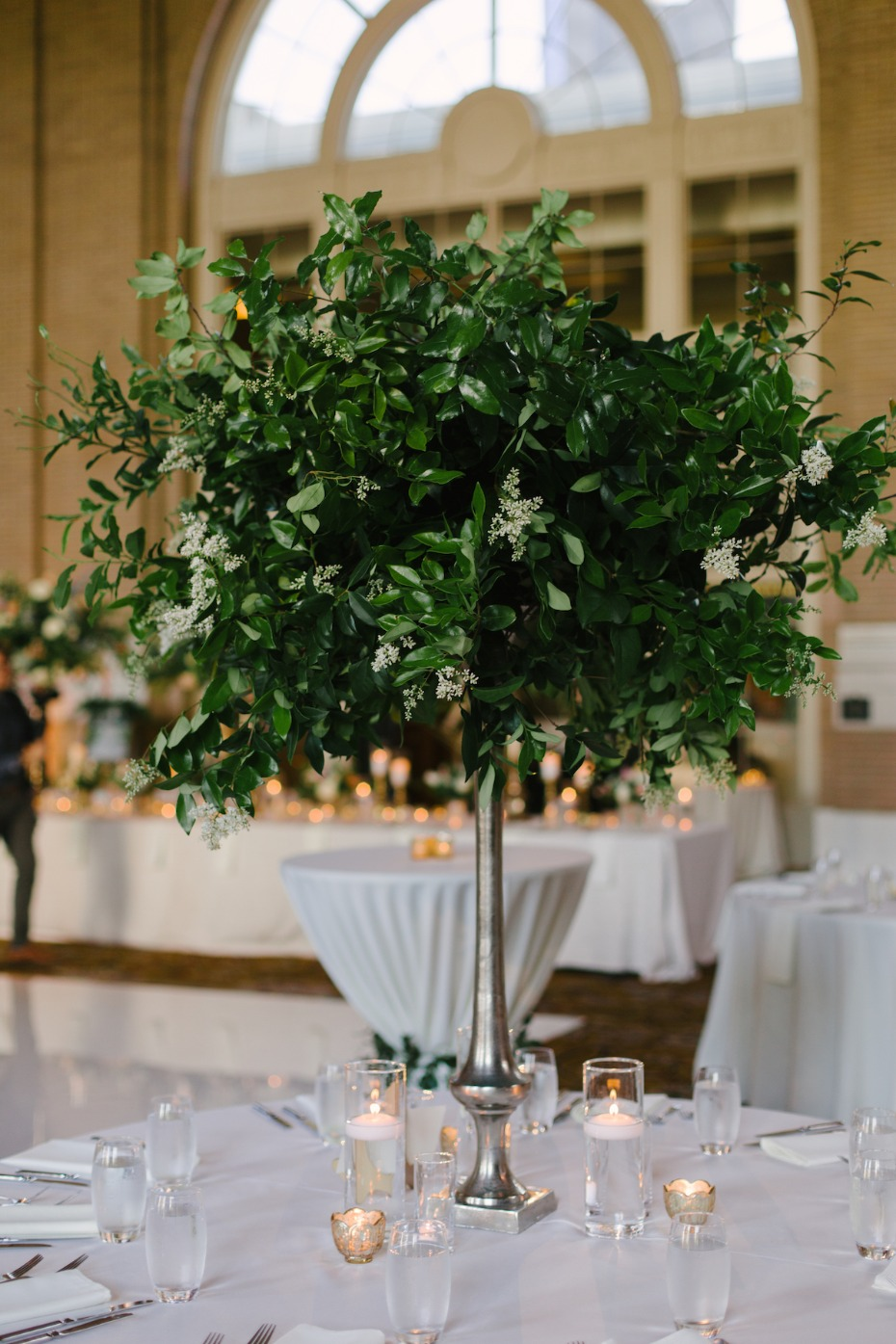 greenery centerpiece idea